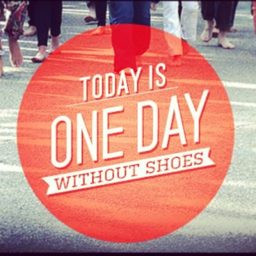 Today is ONE DAY WITHOUT SHOES #ONEDAYWITHOUTSHOES  (en Ensenada Baja California, Mexico)