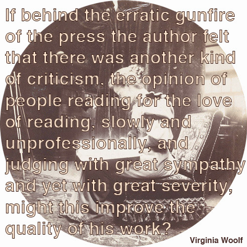 Virginia Woolf on reading
