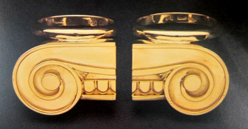 Stanley Tigerman rings.
