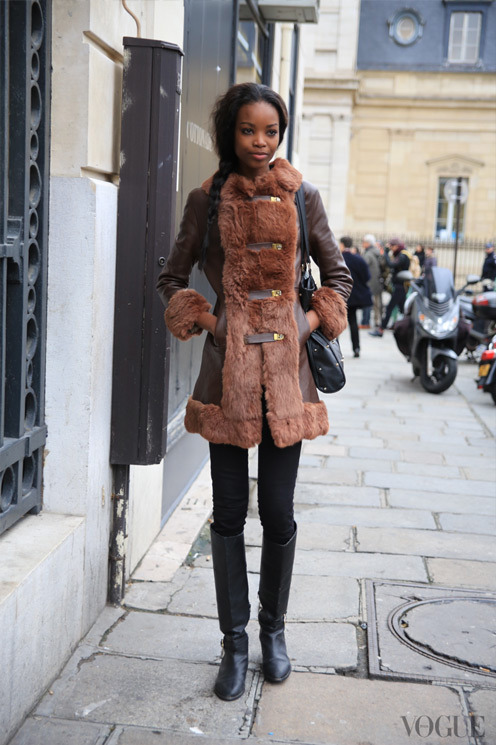 labellefabuleuse:  Streetstyle during Paris Haute Couture, Spring 2013