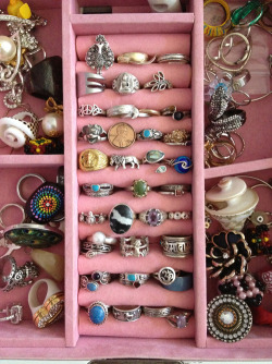 sighingsilhouette:  Rings are my absolute favorite. I love all of these.