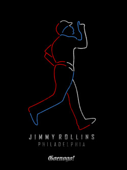 "Design Merch for ""Jimmy Rollins"" Philadelpia Baseball Player"
