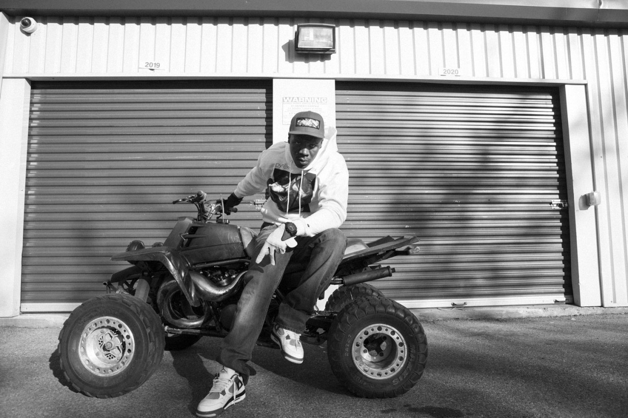 ASAP TyY and his quad bike in the Bronx Spent a day shooting out the back of an SUV, feet lodged into the seat and ass on the windowsill while these uptown boys stopped traffic on the highways and took the streets of Harlem on their quads.  Check out the full story and many more photos on RELAPSE
