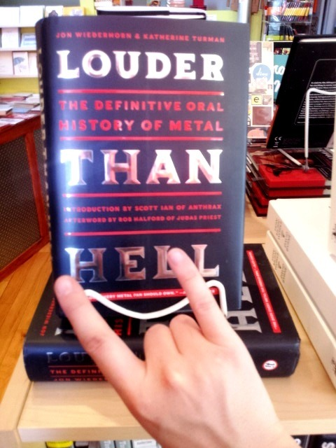 For the metalhead in your life, we recommend Louder Than Hell: The Definitive Oral History of Metal. They are not kidding about definitive; make sure you have a sturdy shelf to put this one on!