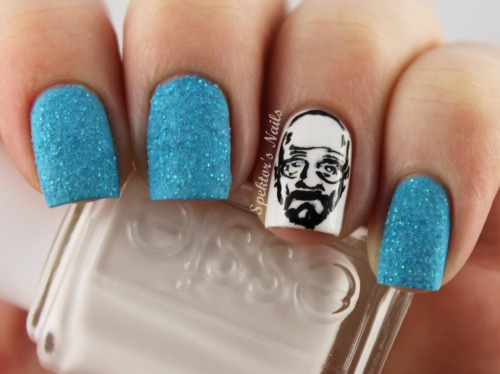 spektorsnails:  Breaking Bad - Heisenberg Nails