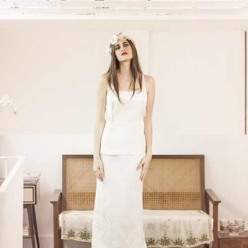 Editorial by Paula Maso  #otaduy #atelier #weddindresses #fashion #fabric #love #mood #magic #summerheart