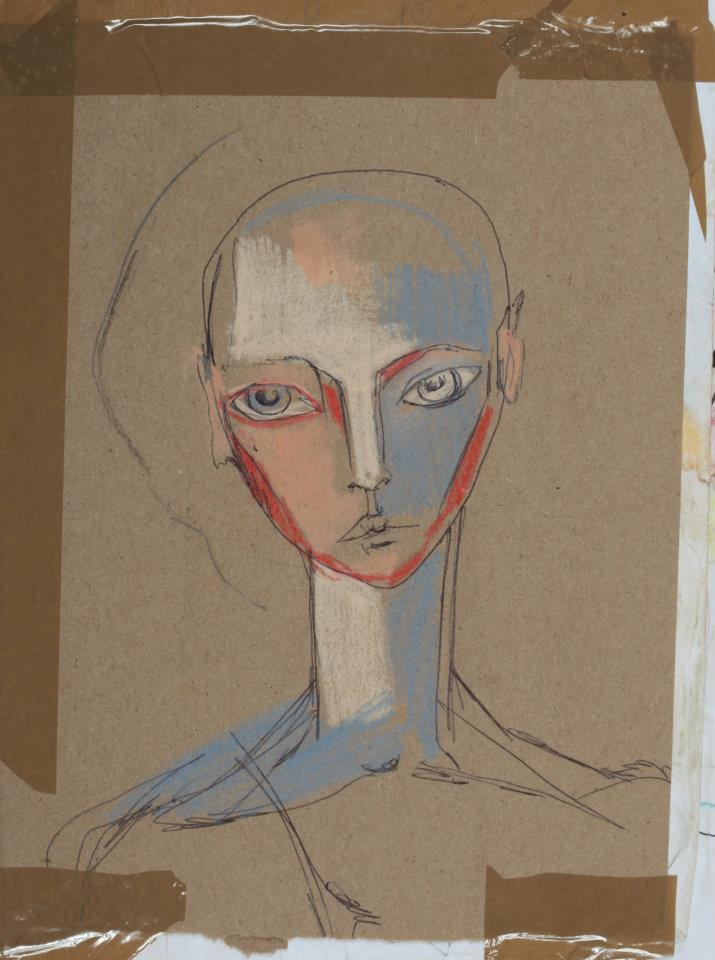 Drawing by Sasha Pivovarova