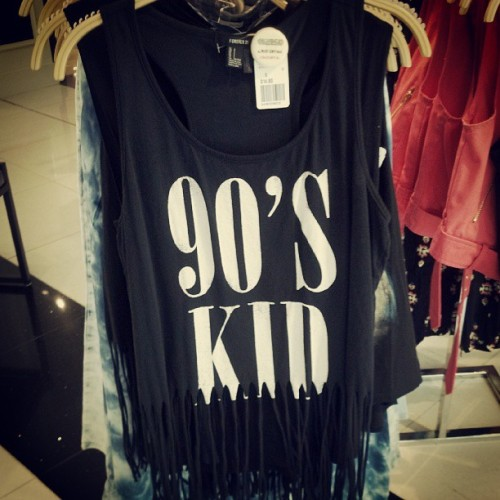 gigi-hotpink:  This is me :) #90skid #forever21 #shoppingspree  LOL. My boyfriend would be so embarrassed if i was wearing this with him.