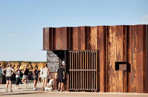 Third Wave Kiosk par Tony Hobba Architects