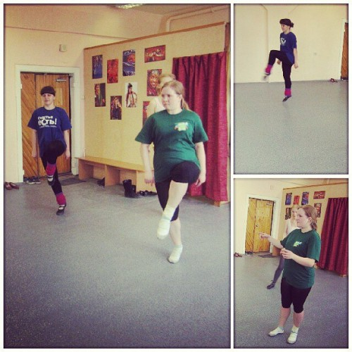 My girls dancing #irishdance #dance #class