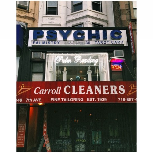 Psychic Cleaners. #psychic #palmreaders