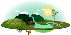Happy Earth Day! Google celebrates Earth Day 2013 with an interactive doodle. You can click on the sun & the moon during different seasons.