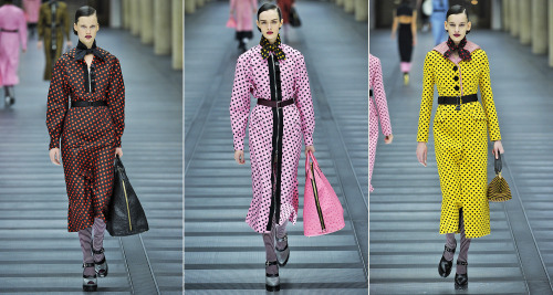 wmagazine:  Photos by firstVIEW Miu Miu has us seeing spots…