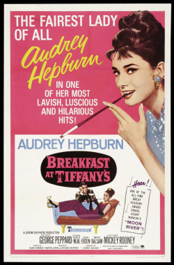 fuckyeahmovieposters:  Breakfast at Tiffany's