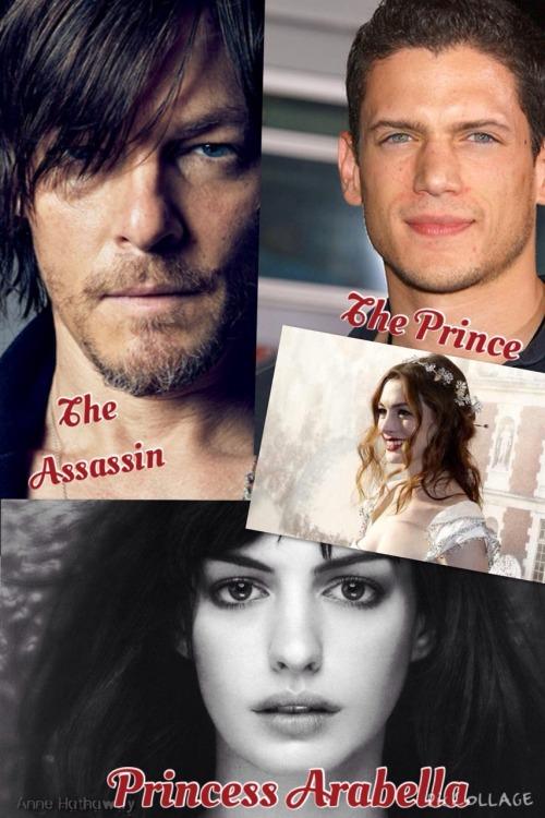 magicklibra:  Who I see as the 3 main characters…  maryepearson Who I see as your 3 main characters!