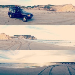 #camping #beach #4wd #panorama
