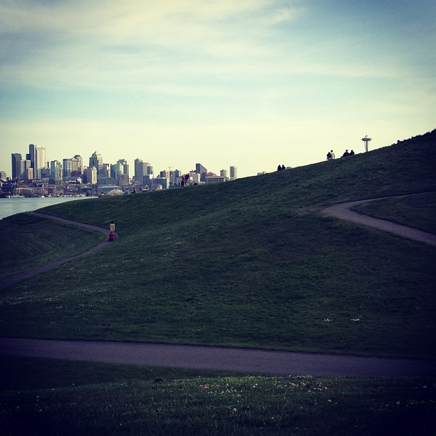 favorite park (at Gasworks Park)
