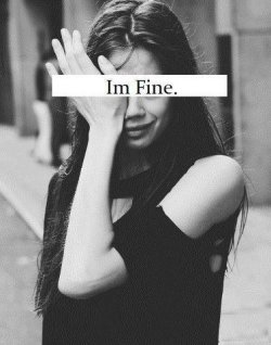 w-ar-ri-o-r:  Im fine. on @weheartit.com - http://whrt.it/122vdSZ  This is so me!