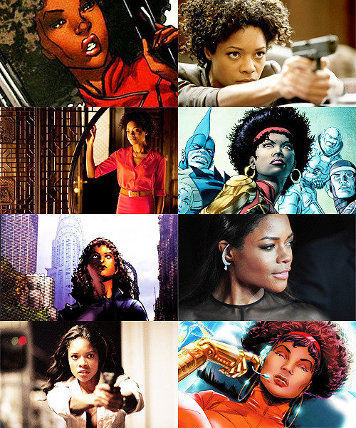 MARVEL FANCAST   Naomie Harris » Misty Knight    Aw yiss!