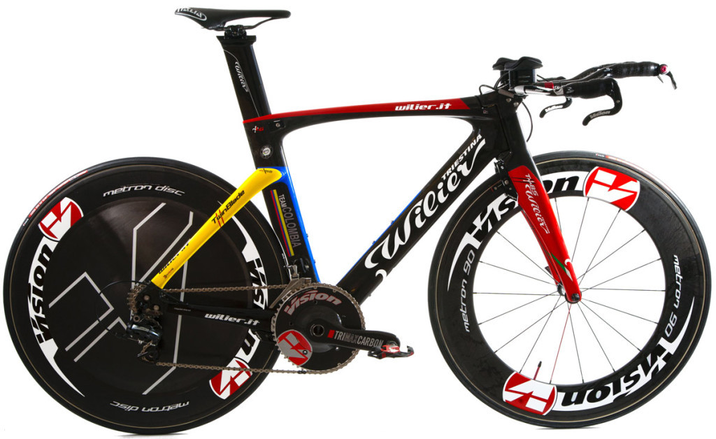 Wilier Triestina Twin Blade 2013, Team Colombia Edition.  Please remember to like our Facebook page: https://www.facebook.com/CyclingScene