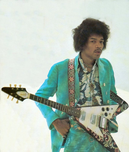 Jimi Hendrix. October 1967.