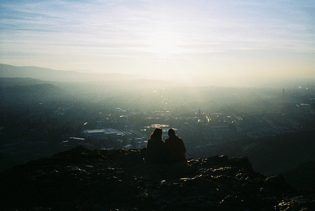 affluentinfluence:  Arthur's Seat by Richard S J Gaston on Flickr.