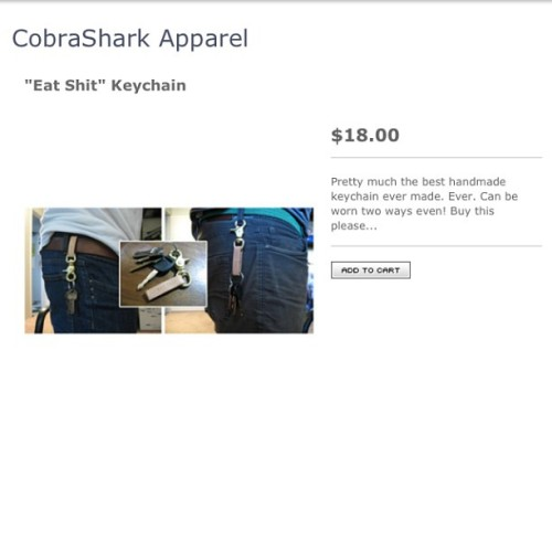 If you're fancy… cobrasharkapparel.bigcartel.com