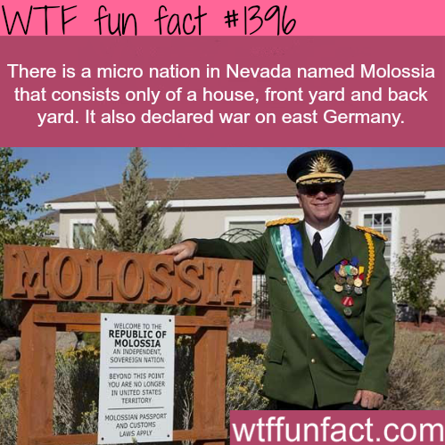 wtf-fun-factss:  micro nation in Nevada - Molossia WTF FUN FACTS HOME / SEE MORE tagged/ places FACTS (source)