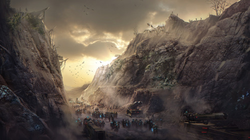 Concept Art for Trion and SyFy's upcoming shooter MMO, Defiance, releasing April 2nd. Source: Defiance Official Website