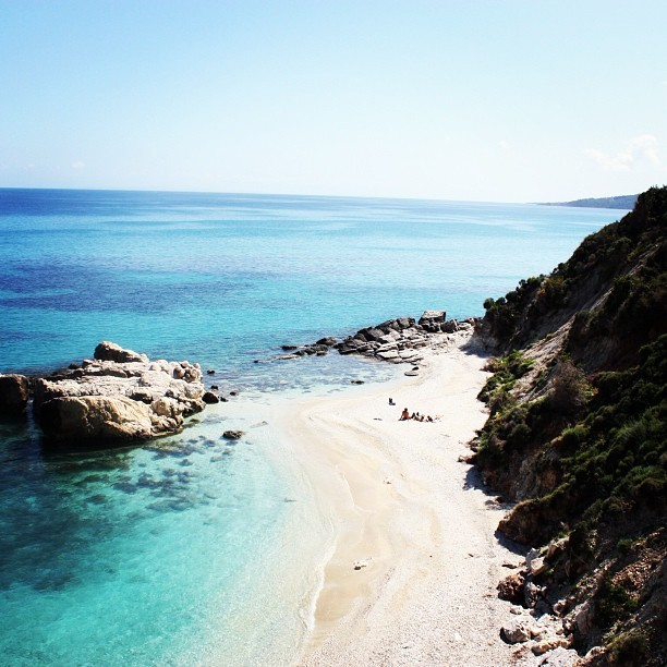 cutesmiles:  Pictures dont do it justice😱👏 #zakynthos #greece #beach #island #takemeback