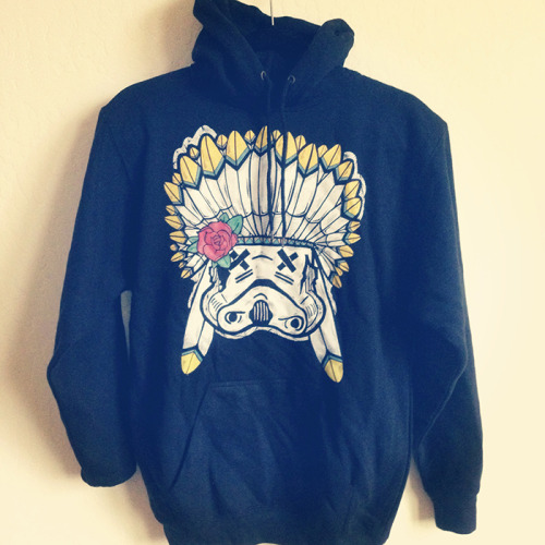 Introducing the SLOTH Chief Trooper Black pullover hoodie. Exclusively at iamsloth.com