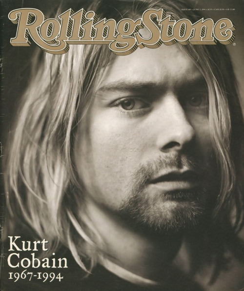 "rollingstone:  ""People looked to Kurt Cobain because his songs captured what they felt before they knew they felt it. Even his struggles – with fame, with drugs, with his identity – caught the generational drama of our time. […] Cobain's life and music – his passion, his charm, his vision – can be understood and appreciated. His death leaves a far more savage legacy, one that will take many years to untangle."" Kurt Cobain died 19 years ago today.  Fucking Legend ♥ Sad Death"