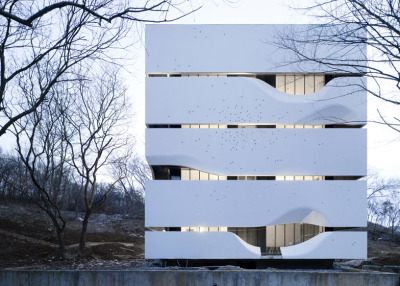 Exterior Block HouseAZL Architects Nanjing, China