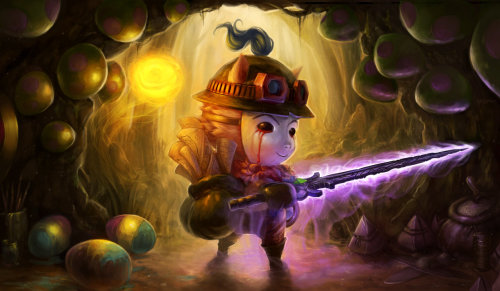 feedercomics:  Season 3 Contest - It's Teemo Time. by ~Tvonn9