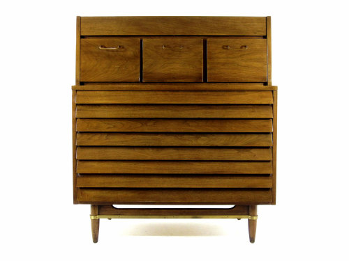 "American of Martinsville Gentleman's Chest. ""Dania"" collection, by Merton Gershun."