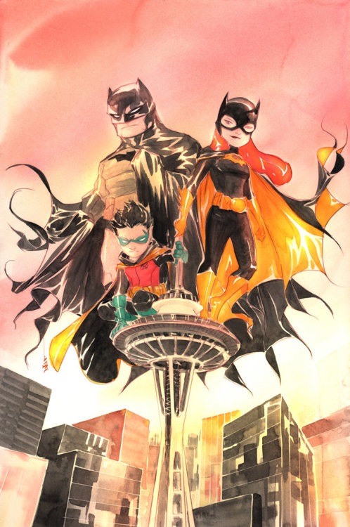 Emerald City Comic Con Batman By Dustin Nguyen