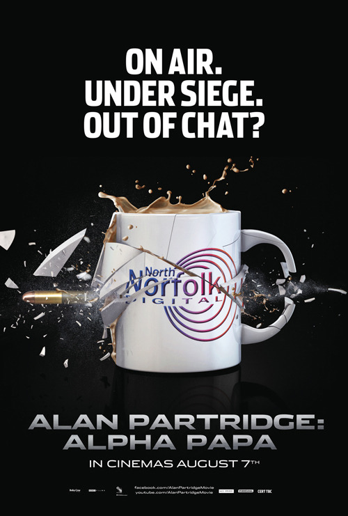 totalfilm:   Alan Partridge: Alpha Papa teaser poster revealed Alan Partridge: Alpha Papa has dropped a timely reminder of its impending release by revealing a new teaser poster…