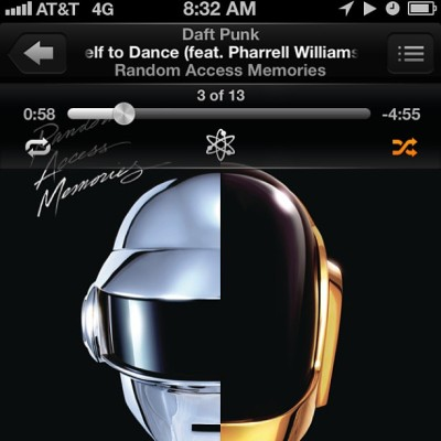 #daftpunk #pharrellwilliam came out today #robots  #futuristic #summertime (at www.overachieversclothing.com/blog)
