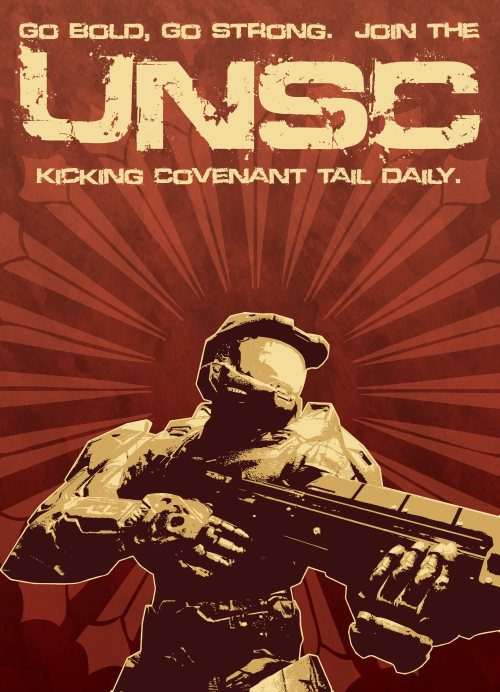 Let's go kick some covenant ass   JOIN THE UNSC AND GO KICK SOME ASS SOLIDER