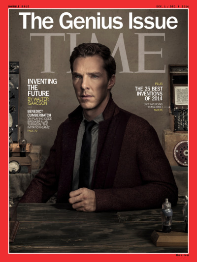 #benedict_cumberbatch, #dan_winters, #time_cover, #the_imitation_game