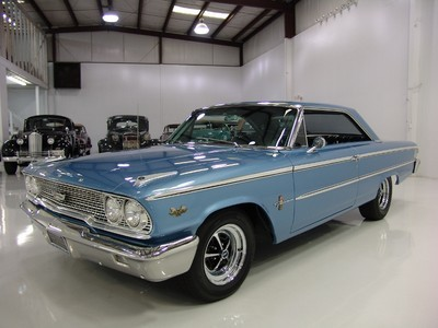 legendaryfinds:  For Sale http://www.legendaryfinds.com/ford-galaxie-nearly-100000-in-receipts-1963/  Ford : Galaxie NEARLY $100,000 IN RECEIPTS! 1963 Muscle Cars: Ford : Galaxie NEARLY $100,000 IN RECEIPTS! 1963 FORD GALAXIE 500 2-DOOR HARDTOP FASTBACK, TOP-LOADER 4-SPEED MANUAL!   Nice car, but way overpriced considering it's originally a 352 car and not a real Q or R code factory 427 car.