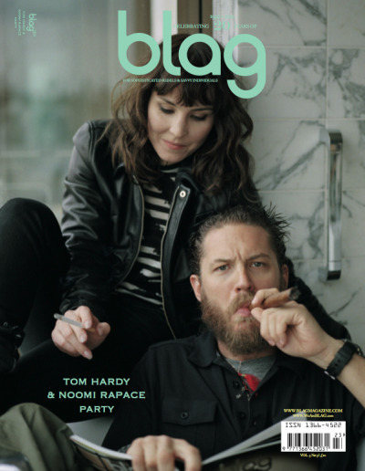 2012 | BLAG Shop Popular Products  20th Anniversary Special Edition with Tom Hardy & Noomi Rapace