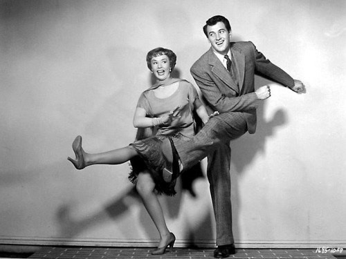 Piper Laurie, Rock Hudson; publicity still for Douglas Sirk's Has Anybody Seen My Gal? (1952)
