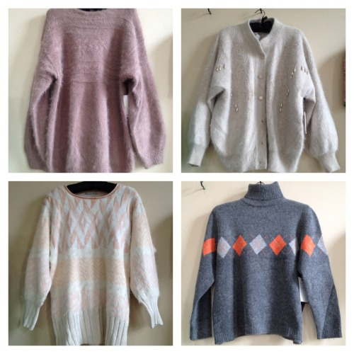 If you like your knits soft and fluffy angora is the way to go