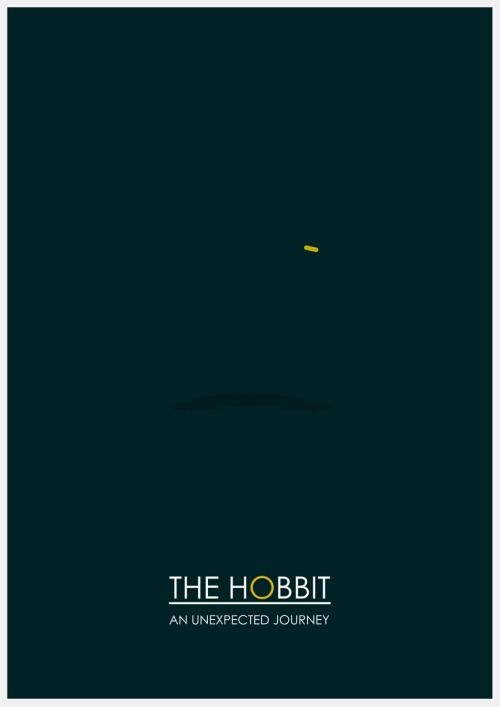 fuckyeahmovieposters:  The Hobbit: An Unexpected Journey by Jamesy Design