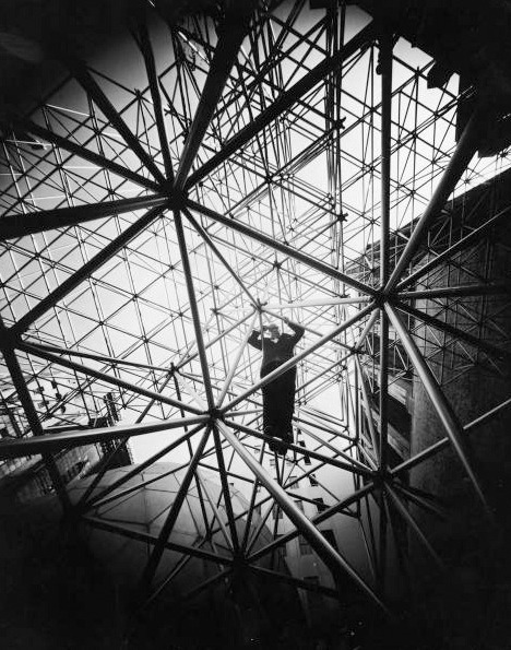 ryanpanos:  Rare photographs of Buckminster Fuller surface