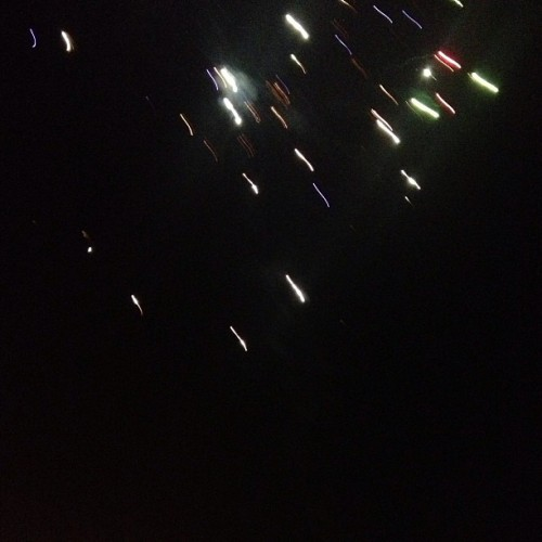 ..and more.. :P #fireworks #friends #long #weekend #may #nofilter #sunday #night #lights