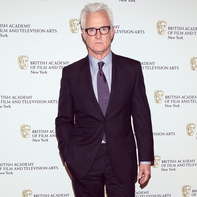 On The Town: John Slattery There's never very much sartorial space separating Mr Slattery from his always smartly dressed persona on Mad Men.