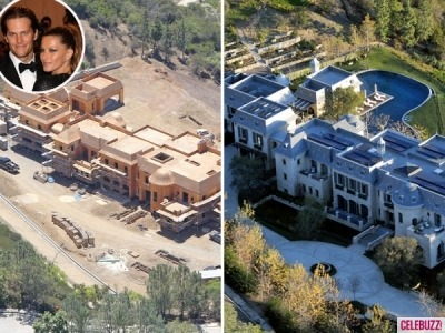 Tom Brady and Gisele Bündchen have more than just a moat at their $20 million eco-friendly mansion in LA!  See their new estate by clicking the image above!