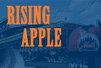 In December 2010, I was handed a fledgling, neglected New York Mets blog—it rarely touched a hundred views in a given day. It was fair to say that Rising Apple, the featured Mets blog on the FanSided network, was a very small fish in the large pond that is the Mets blogoshere. Yet, after a year-plus under my reign as the Senior Editor, Rising Apple's traffic spiked over 1000%, and became a frequently linked source on MLB Trade Rumors, Mets Blog, Amazin' Avenue, and is now partnered with SI.com. I stepped down in August 2012 to focus on other writing endeavors, but Rising Apple remains a credible source for Mets news and analysis.  click here to view my author page.